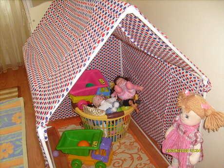 İşte çadırımızın son hali