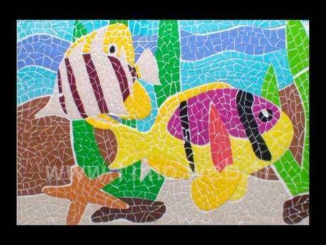 Fimo + mozaik = Fimozaik
