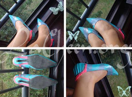 ayakkabı boyama projesi