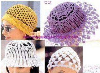 Güzel Örgü Şapka Modelleri