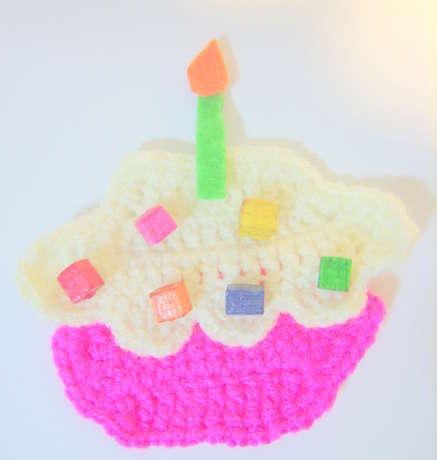Örgü Minik Doğum Günü Pastam