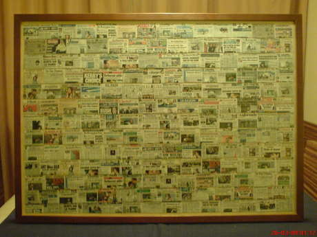 the newspapers