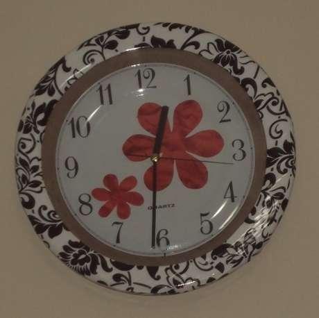 çiçekli saatim...