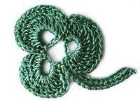 yeşil yaprak motifi
