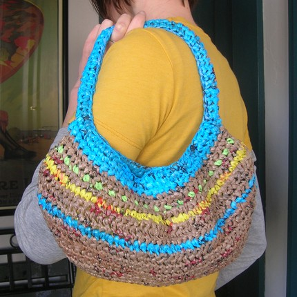 poşetten kol çantası