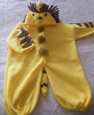 aslanlı bebek tulum