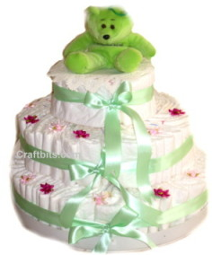 Bebek bezlerinden pasta
