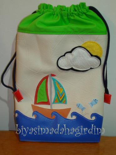 bebek bezleri için çanta