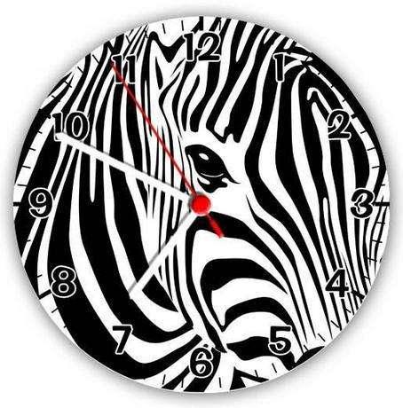 zebra desenli saat