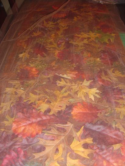 yapraklardan masa örtüsü2
