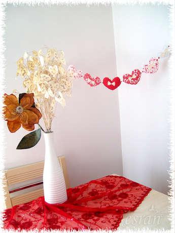 kalp dekor