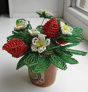 boncuk-çiçek