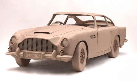 Aston Martin DB5 birebir model