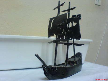 oğuzhanın korsan gemi maketi