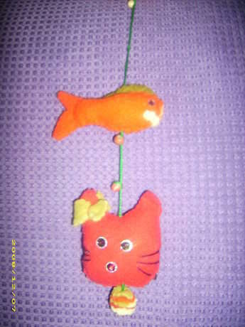 balık,kedi