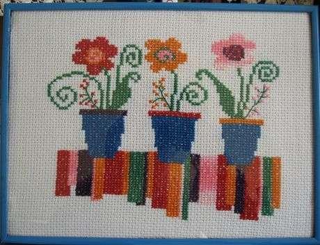 Saksı çiçekler