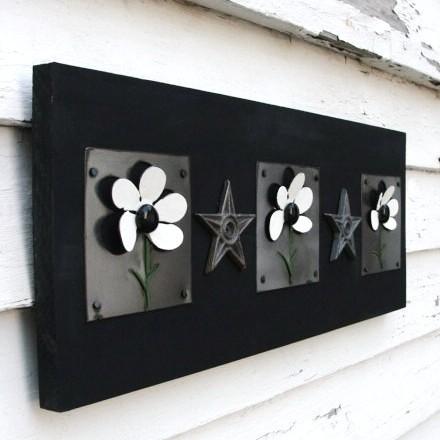 3D çiçekler
