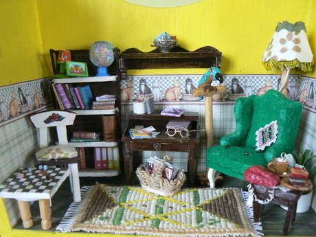 minyatür okuma odası