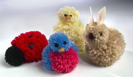 ponpondan oyuncaklar