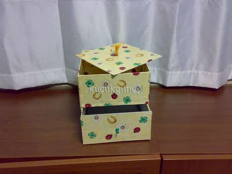 çekmeceli kutu