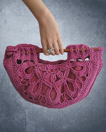 pembe çanta