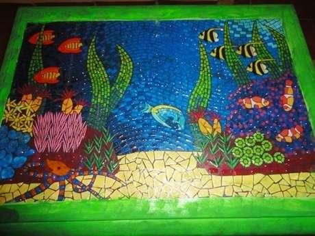 çakma mozaik