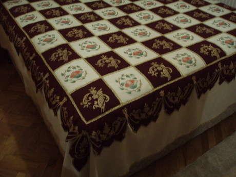 Boyama yatak örtüsü