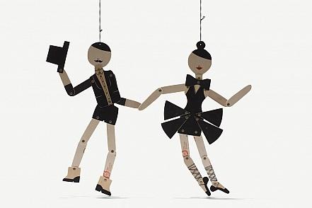 Baleri ve dansçı adam