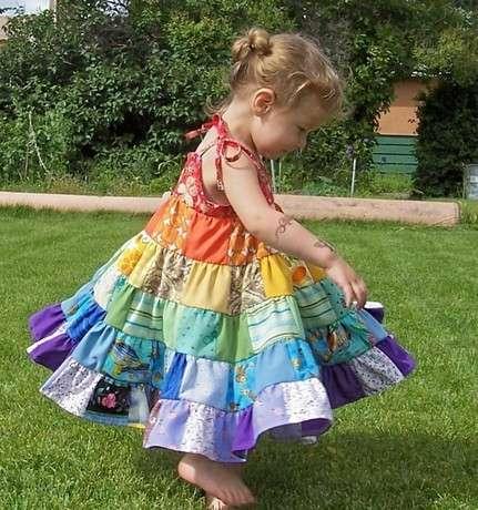 kırkyama elbise