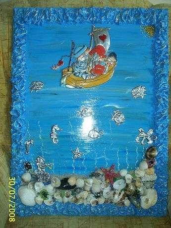 folyo deniz manzarası