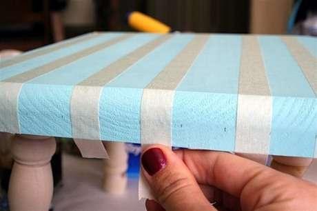 mobilya boyama tabure yenileme örneği