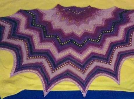 batik şal
