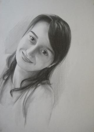 karakalem portreler