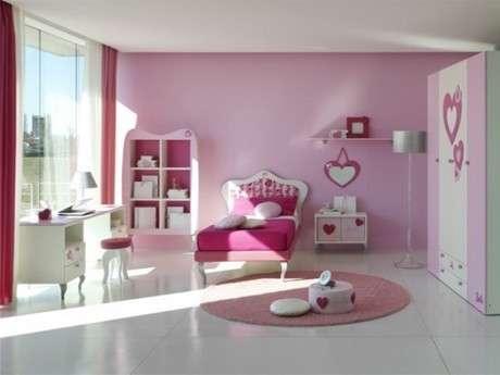 genç kız yatak odası