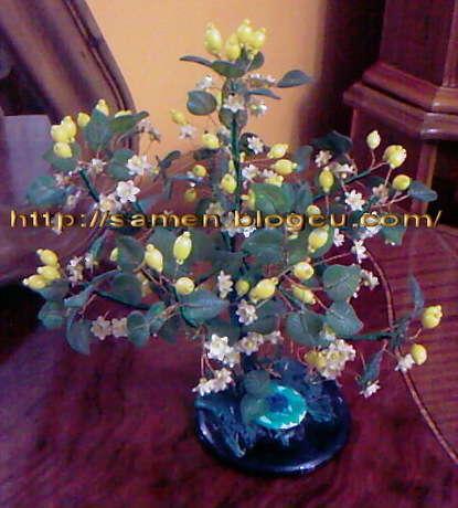 el yapımı limon ağacı