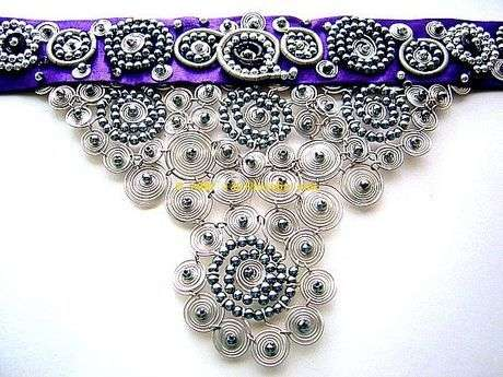 Gümüş rengi telle çalışılmış versiyonu