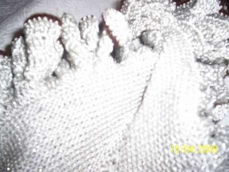 tığ işi süper bebek