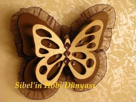 3 boyutlu kelebeğim...