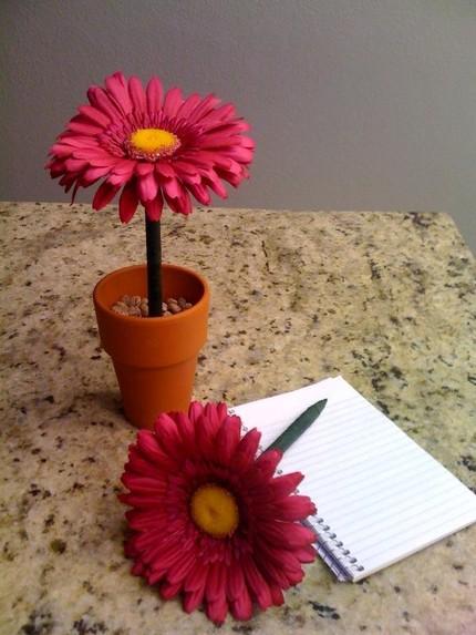 kalem mi çiçek mi