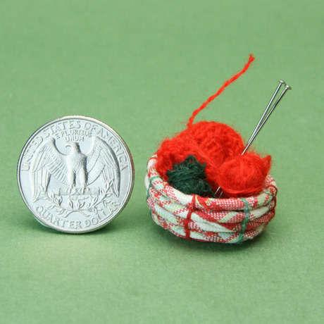 minyatur yun sepeti