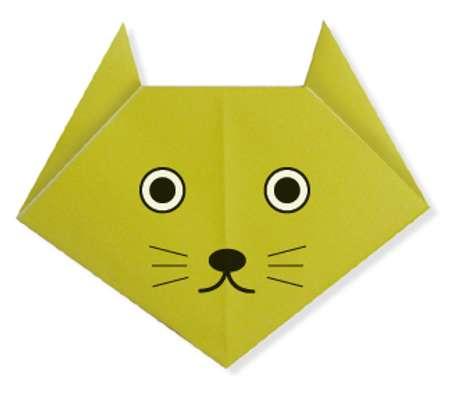 origami kedi