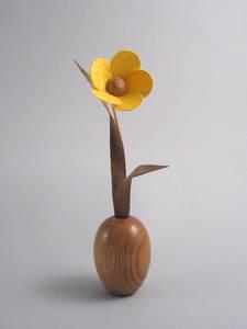 tahta çiçek