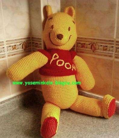 örgü oyuncak winnie the pooh