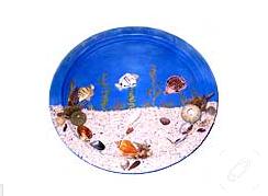 deniz kabuklarından pano yapımı