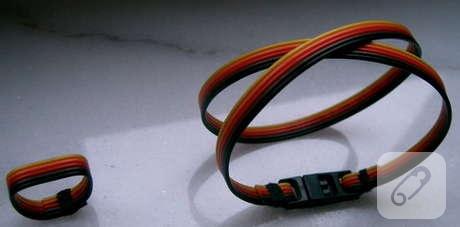 kablodan bileklik yapımı