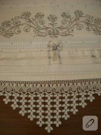 havlu kenarı