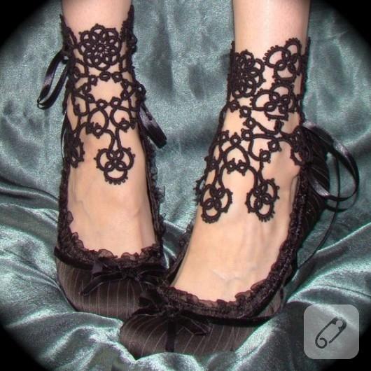 mekik oyası ayakkabı süsü