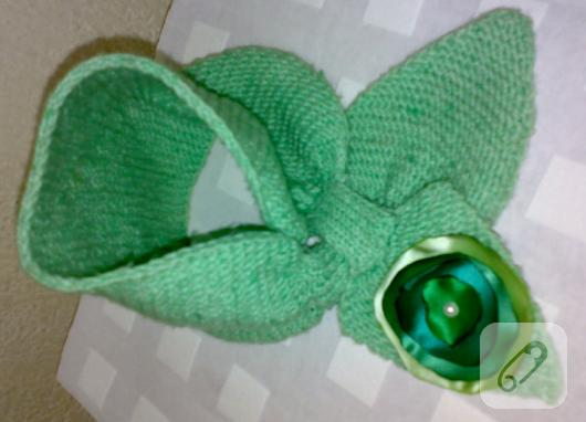 yeşil kravat atkı boyunluk