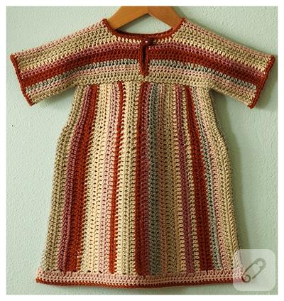 kiz-cocuklar-icin-cizgili-tig-isi-elbise-modeli