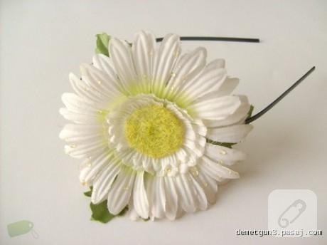 çiçekli taç modeli